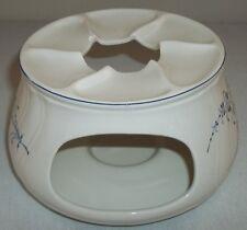 Villeroy & and Boch VIEUX LUXEMBOURG tea pot / plate / tureen warmer heater