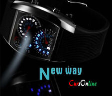 OROLOGIO Led RPM Turbo Aviation Moderno Originale Elegante Uomo Bambin Aereo NEW