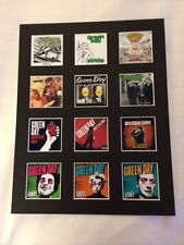 """Green Day 14"""" by 11"""" LP Discography Covers Picture Mounted Ready to Frame"""