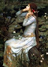 Ophelia      by John William Waterhouse  Giclee Canvas Print Repro