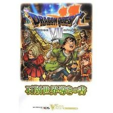 Dragon Warrior (Quest) VII Warriors of Eden strategy guide book w/Extra / 3DS