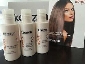 Brazilian Keratin Treatment Complex Blowout KERAZON 6oz/180ml KIT Keratina
