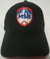 MATTERHORN SKI BAR SUNDAY RIVER MAINE BASEBALL CAP COVER EUC