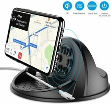 Kehangda Wireless Car Charger Mount 10W Fast Charging Car Phone Holder with QC 3