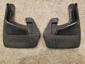 Honda Crx 88-91 Front Mudflaps oem