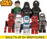 LEGO New Star Wars 250+Minifigures Han Solo Jedi Mandalorian Darth Vader Obi Wan