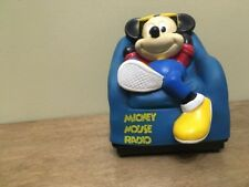 Mickey Mouse in chair radio