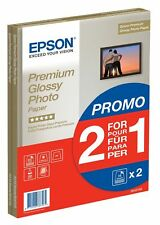 Epson Premium Glossy Photo Paper A4 2-for-1 30 Sheets Best Performance
