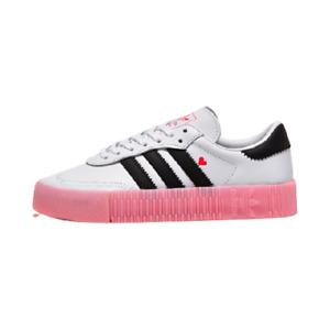 [Adidas Originals] W Samba Rose Shoes Sneakers - White/Pink(EF4965)