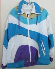Vintage womens G4000 Funky windbreaker coat M stitching damage