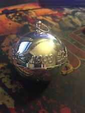 1998 Vintage Collectible Wallace Silverplate Limited Edition Annual Sleigh Bell