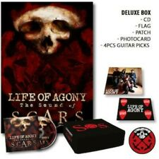 Life of Agony Sound Of Scars box set w/ cd flag guitar pics patch