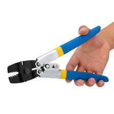 Carbon Steel Fishing Plier Wire Rope Swager Crimper Crimping Tool Decking DIY