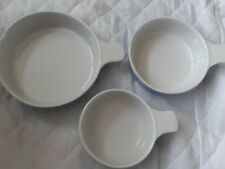 Bakeware Dishes With Handles. Set Of 3. Boxed.