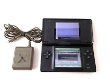 Nintendo DS Lite Black Console System w/Charger (Screen Damage)