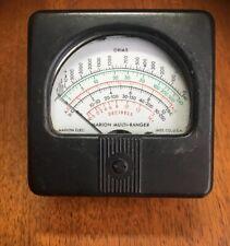 Vintage Marion Multi-Ranger - Ohms Decibels - Test Equipment