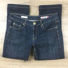 Jag Jeans Mid Rise Reg Fit Crop Capri Size 12 Women's Jeans Measures W33 (CD19)