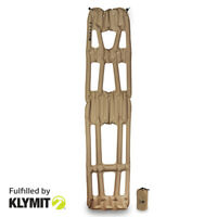 KLYMIT Inertia X-Frame Ultra-Light Sleeping Camping Pad - Tan - Factory Second