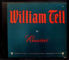 ROSSINI: WILLIAM TELL-Rare 4 Album Opera Box Set-CETRA #1232-Micro Groove