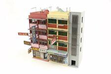 TINY Hong Kong City Bd10 HK Oldy Building Painted Diorama Set Model Colorful