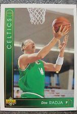 Upper Deck Dino Radja Boston Celtics NBA N. 49 Trading Card