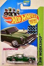 HOT WHEELS 2014 HW WORKSHOP ASTON MARTIN 1963 DB5 GREEN FACTORY SEALED
