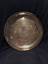"Silverplate Large (14 3/4"") Tray"