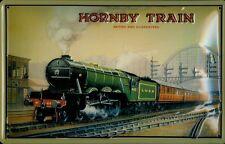 Blechschild Nostalgieschild Hornby Train LNER England Eisenbahn Dampflok 20x30