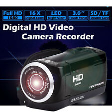"NEW! HD 1080P 16MP DIGITAL VIDEO CAMERA CAMCORDER DV 3.0"" TOUCHSCREEN 16x ZOOM"