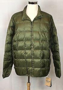 Burton Men's Evergreen Snap Down Insulator Jacket Sz XXL NEW With Tags NWT Olive