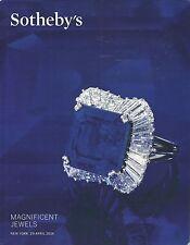 SOTHEBY'S JEWELS Duquette Webb Gorme Steel Colls EL DORADO EMERALD Catalog 2014