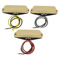 Single Coil Pickups Neck Middle Bridge Set for Electric Guitar Parts Replacement
