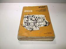 Manuale ricambi motore Fiat  203, 682N2, edizione 1964  [3632.17]
