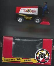 Bruins 1996 NHL All-Star Game Boston  Souvenir Die-Cast  Zamboni  Ltd Ed