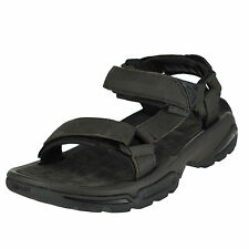 01a9334987c Teva Terra Fi 4 Leather Turkish Coffee Mens Hook and Loop Straps Size 8m