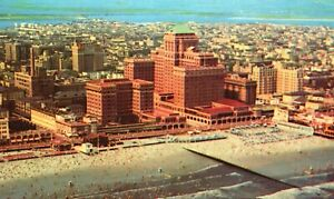 Vintage Postcard 1958 Chalfonte Haddon Hall Vacation & Health Resort Atlantic Ci