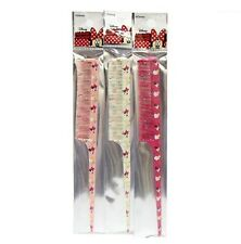 Disney MINNIE MOUSE Pink / White / Red COLOR RANDOM Rat Tail Hair Comb Girls