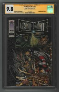 Deathmate Black SS CGC 9.8 1 of 31 1st Gen 13 sign by J. Scott Campbell Movie