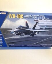 1/48 Kinetic F/A-18C Hornet Us Navy, Swiss, Finland Air Force & Top Gun #48031