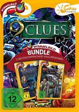 9 Clues 1+2 Sunrise Games PC Spiel Wimmelbild Neu & OVP