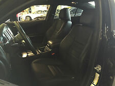 2012 2013 2014 DODGE CHARGER SXT RT BLACK KATZKIN LEATHER REPLACEMENT SEAT COVER