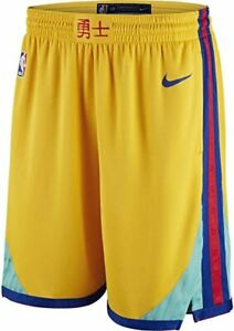 🔥 Nike Golden State Warriors Swingman Chinese New Yr City Edition Shorts 46 XXL
