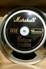 2x Celestion Marshall Vintage 30 cm/12in Haut-parleur T3897B 16 Ohm UK MADE FOR DSL40