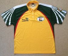 Large Mens Campbelltown Camden Ghosts Cricket Shirt Jersey  FREE POST