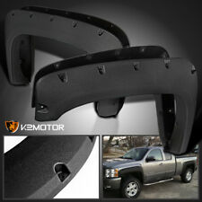 Rugged Texture 2007-2013 Chevy Silverado 1500/2500HD/3500HD Rivet Fender Flares