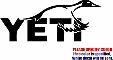 """YETI Pintail Duck Hunting Graphic Die Cut decal sticker Car Truck Boat 7"""""""