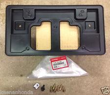 Genuine OEM Honda CR-V Front License Plate Holder Kit 2012 - 2014 Bracket CRV