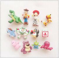lot of 12 Disney Toy Story Alien Cowgirl Buzz  pvc MINI FIGURE 5cm-7cm
