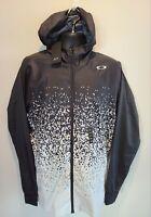 NEW - Oakley Black Digital Long Sleeve Hooded Jacket Shell, Men's 2XL. A174