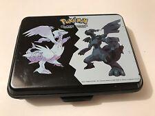 2011 Pokemon Black White Version Nintendo DS Hard Case Shell Rubber Edges